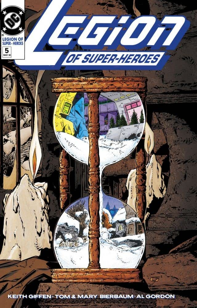 Legion of Super-Heroes (1989-2000) #5