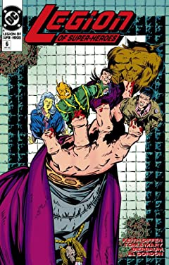 Legion of Super-Heroes (1989-2000) #6