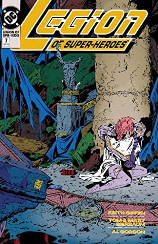 Legion of Super-Heroes (1989-2000) #7