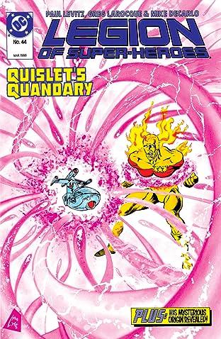 Legion of Super-Heroes (1984-1989) #44