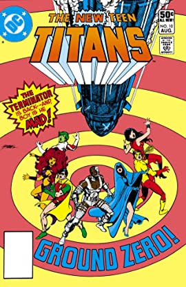 New Teen Titans (1980-1988) #10