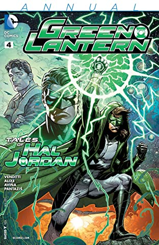 Green Lantern (2011-) #4: Annual