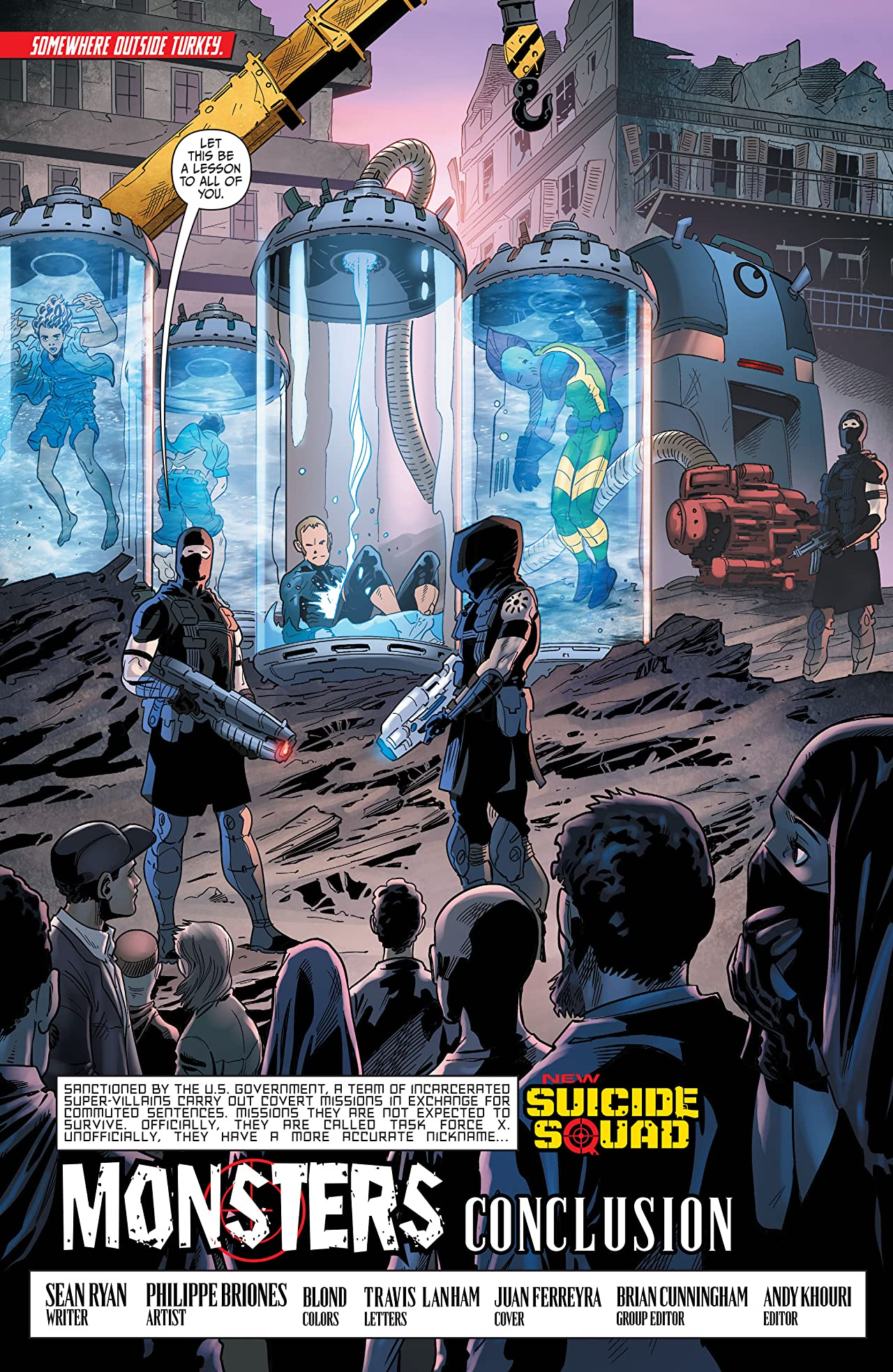 New Suicide Squad (2014-2016): Annual #1