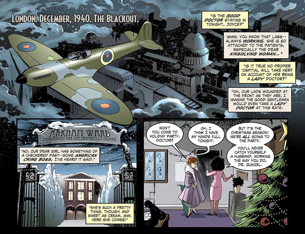 DC Comics: Bombshells (2015-2017) #11