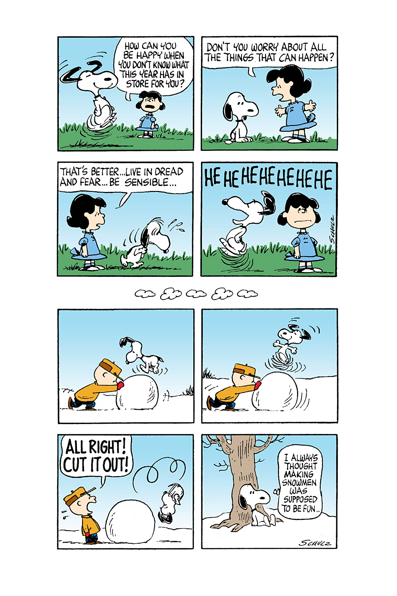 Snoopy: Contact!: A Peanuts Collection