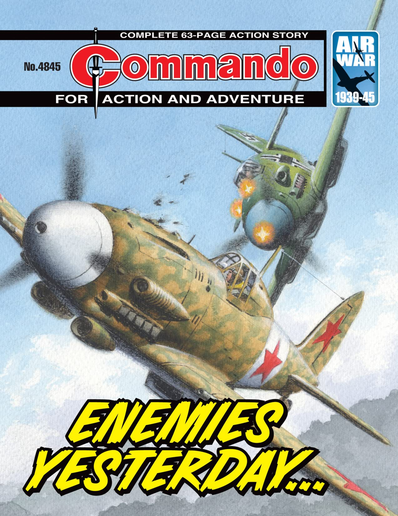 Commando #4845: Enemies Yesterday...