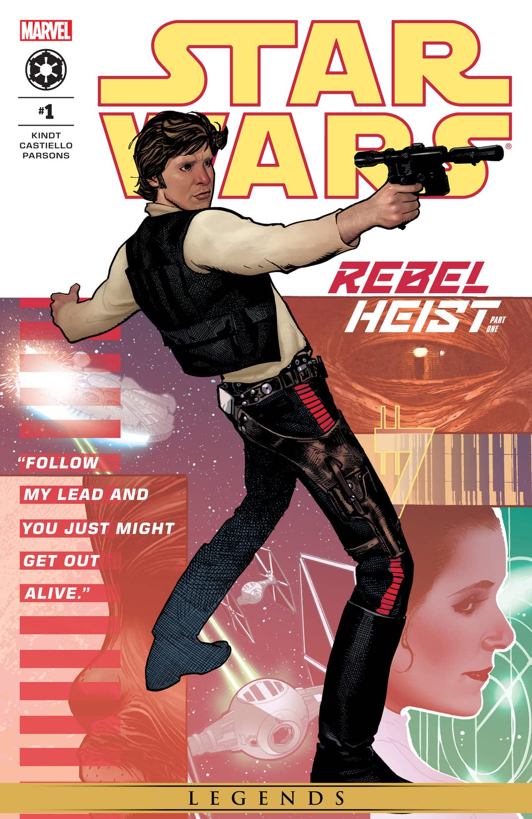 Star Wars: Rebel Heist (2014) #1 (of 4)