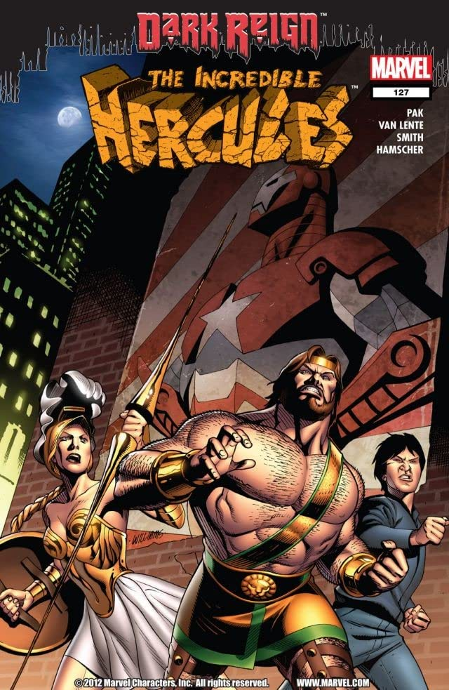Incredible Hercules #127