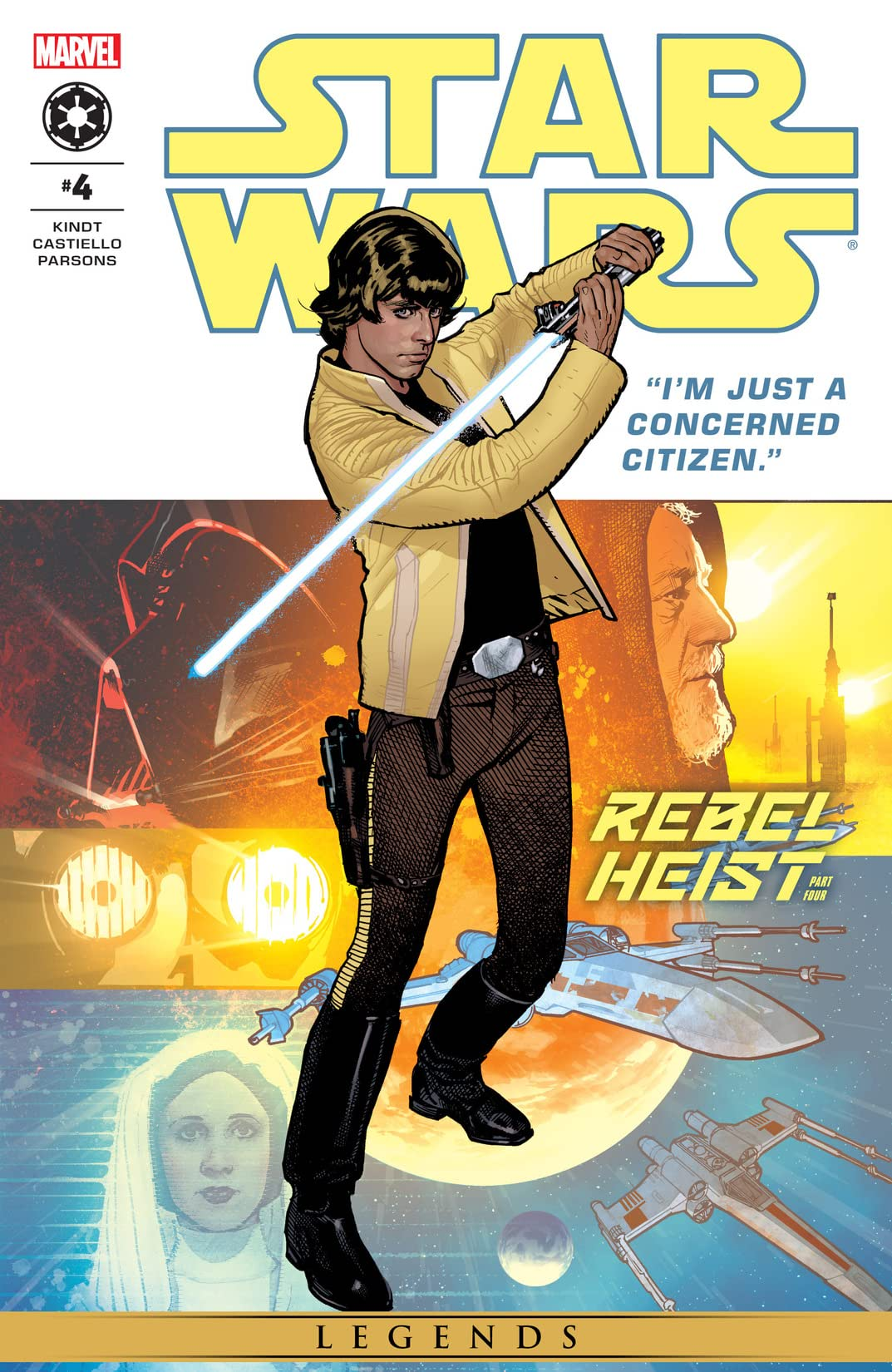 Star Wars: Rebel Heist (2014) #4 (of 4)