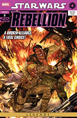 Star Wars: Rebellion (2006-2008) #5