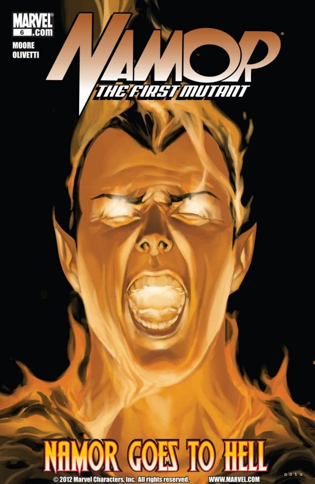 Namor: The First Mutant #6