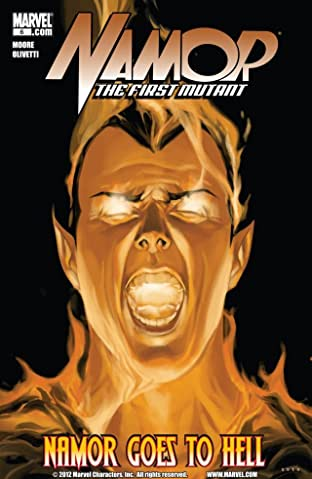 Namor: The First Mutant (2010-2011) No.6