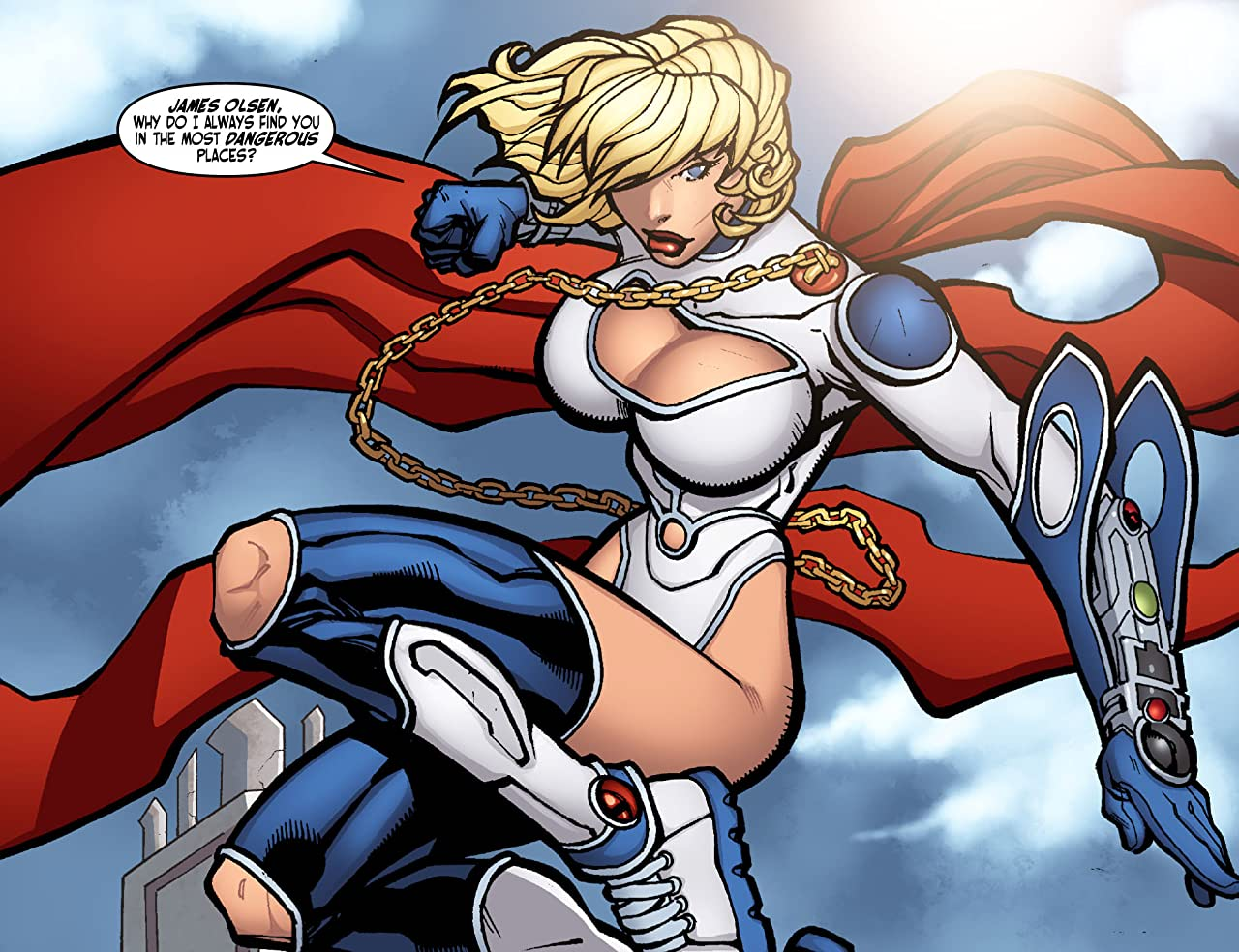 Ame-Comi IV: Power Girl #1