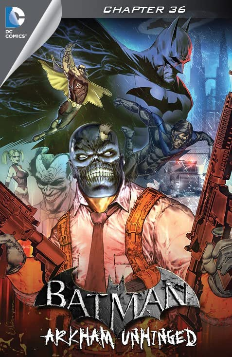 Batman: Arkham Unhinged #36