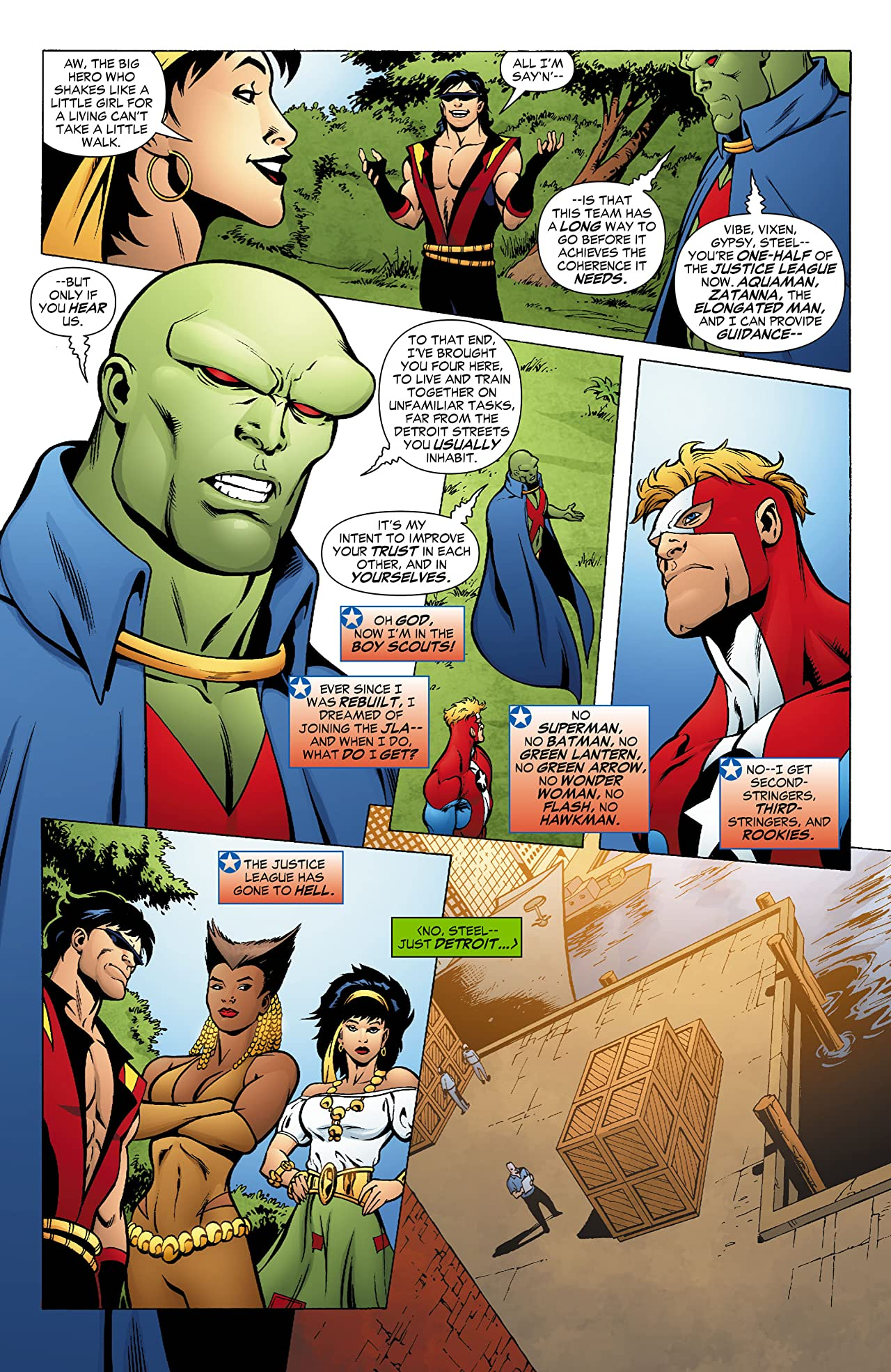 JLA: Classified #22