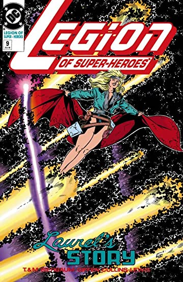 Legion of Super-Heroes (1989-2000) #9