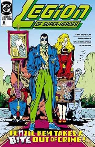 Legion of Super-Heroes (1989-2000) #11