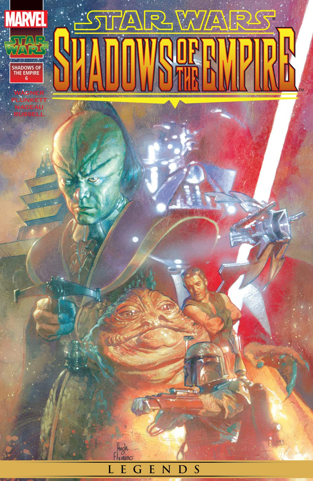 Star Wars: Shadows of the Empire (1996) #6 (of 6)