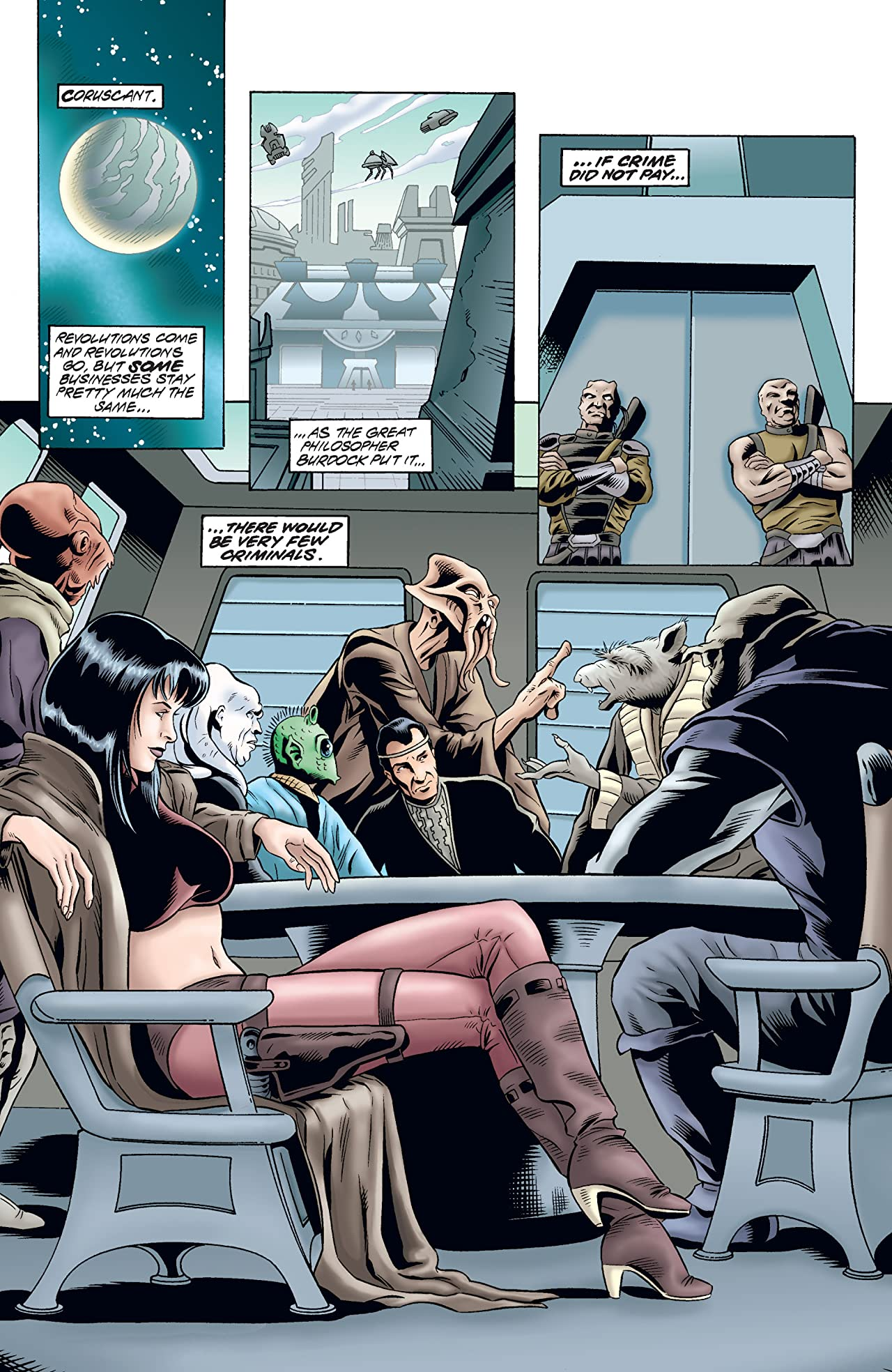Star Wars: Shadows of the Empire - Evolution (1998) #3 (of 5)