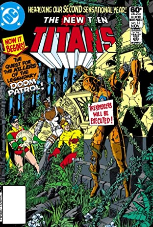 New Teen Titans (1980-1988) #13