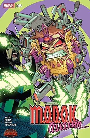 M.O.D.O.K. Assassin (2015) #5 (of 5)