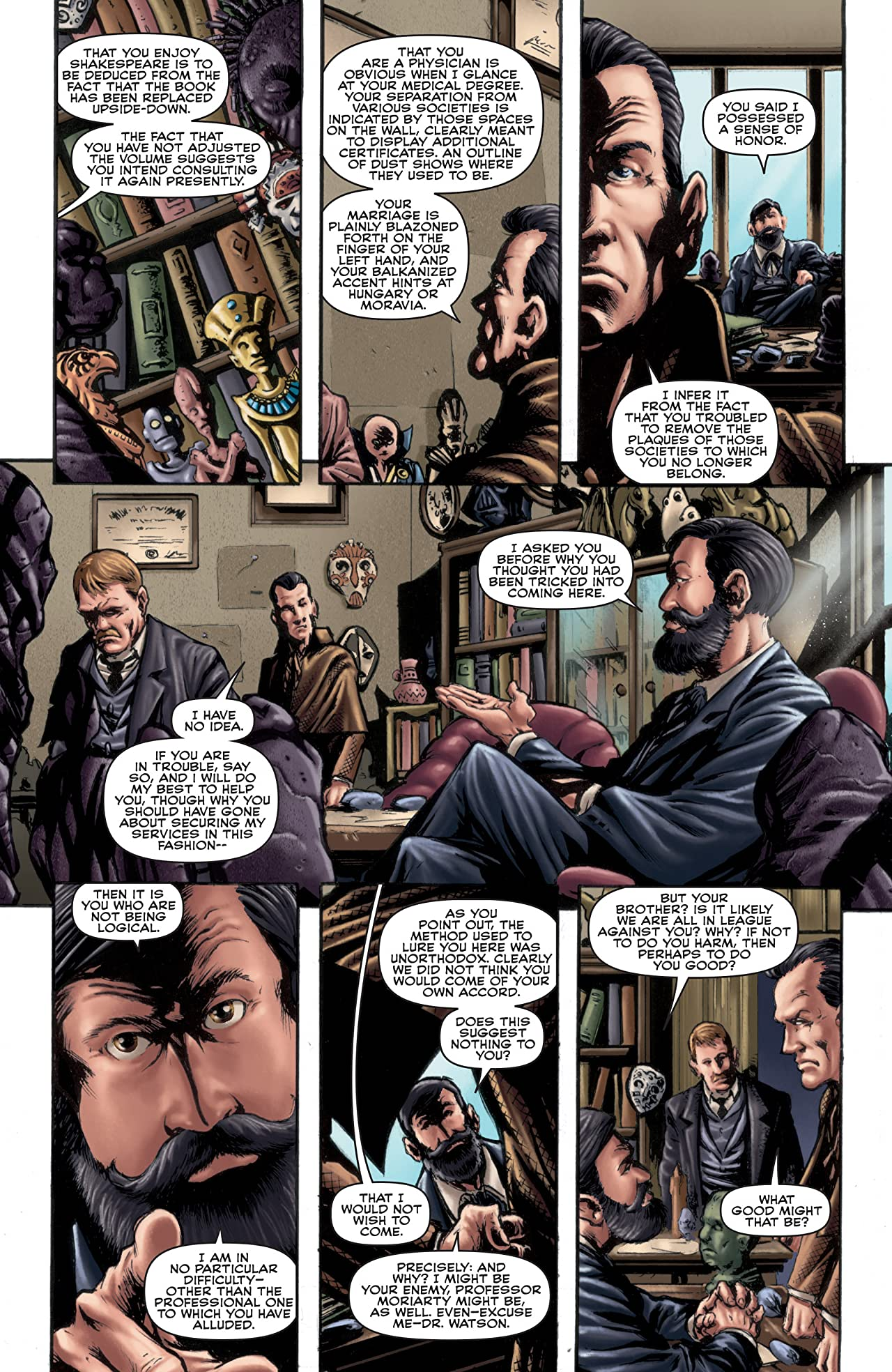 Sherlock Holmes: The Seven-Per-Cent Solution #3 (of 5)