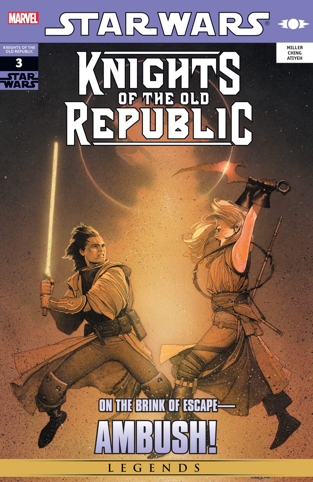 Star Wars: Knights of the Old Republic (2006-2010) #3