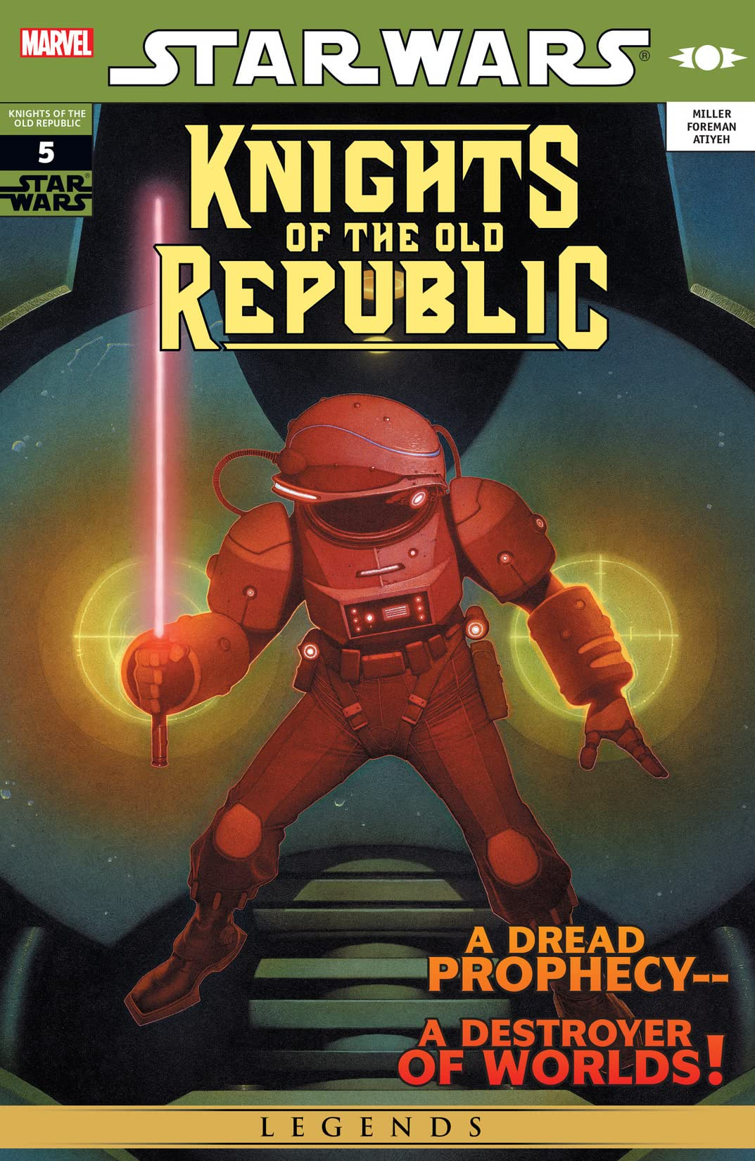 Star Wars: Knights of the Old Republic (2006-2010) #5