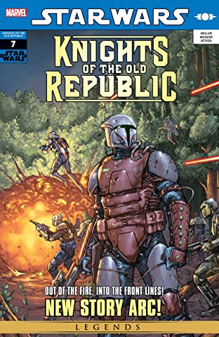 Star Wars: Knights of the Old Republic (2006-2010) No.7