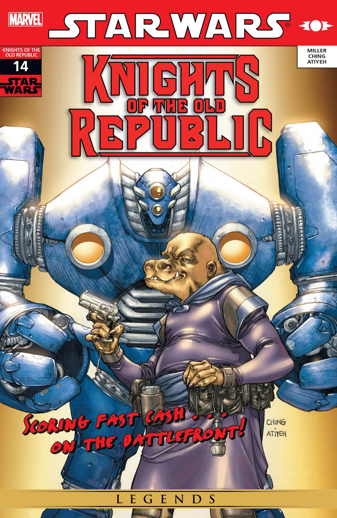 Star Wars: Knights of the Old Republic (2006-2010) #14