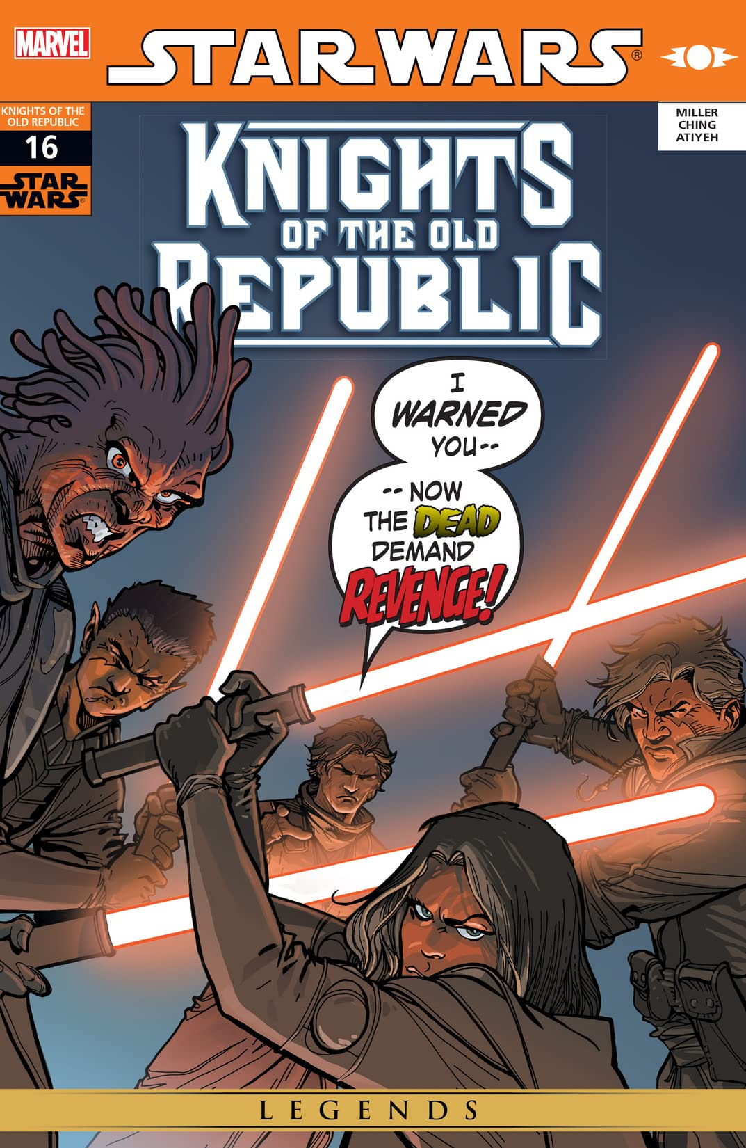 Star Wars: Knights of the Old Republic (2006-2010) #16