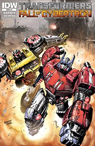 Transformers: Fall of Cybertron No.1 (sur 6)