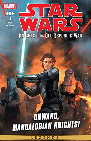 Star Wars: Knights of the Old Republic - War (2012) #2 (of 5)