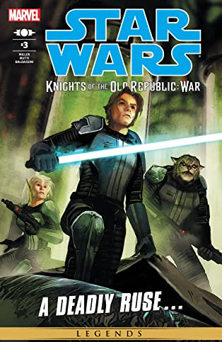 Star Wars: Knights of the Old Republic - War (2012) #3 (of 5)
