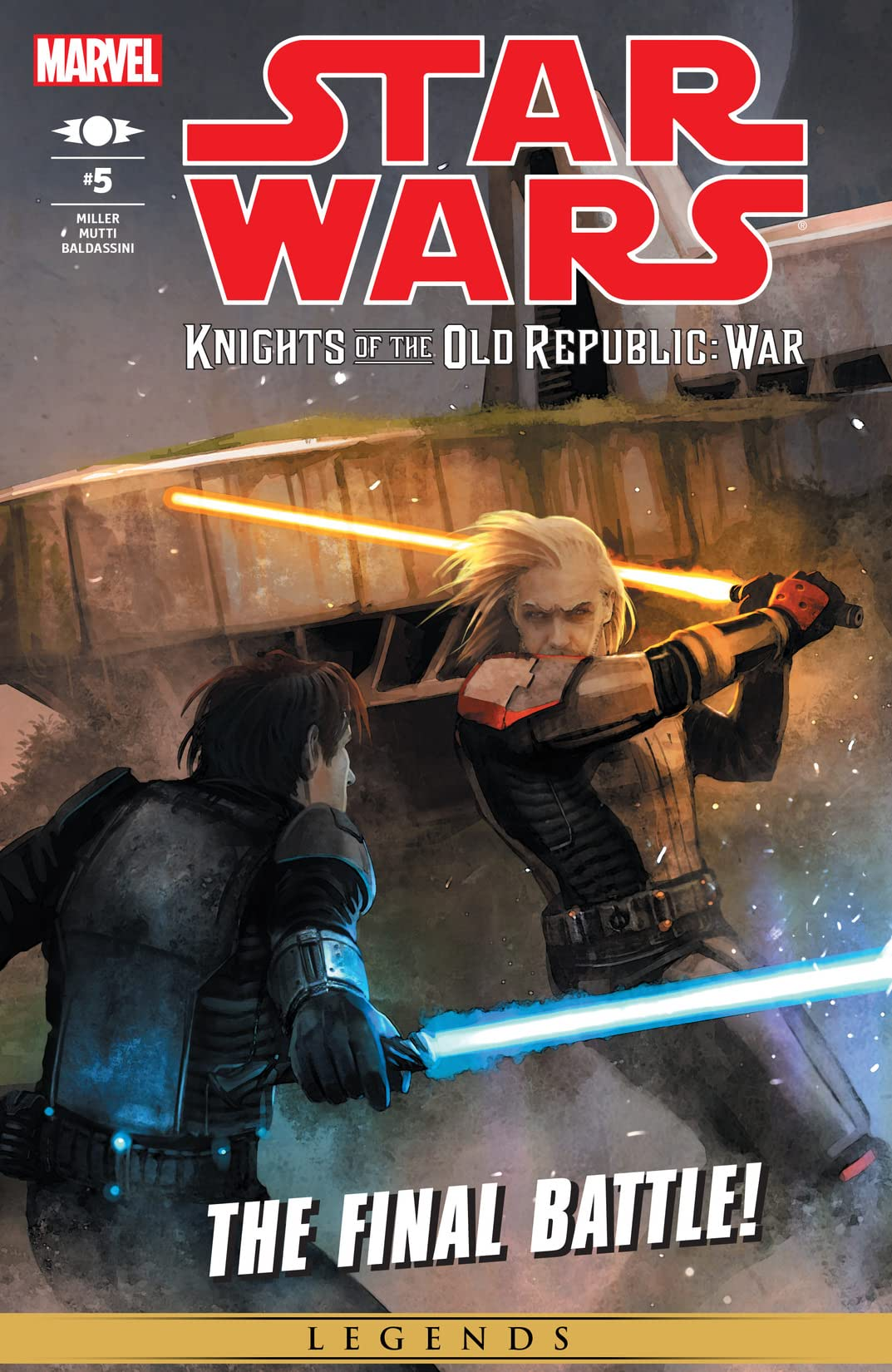 Star Wars Knights Of The Old Republic War 2012 5 Of 5 Eu Comics By Comixology