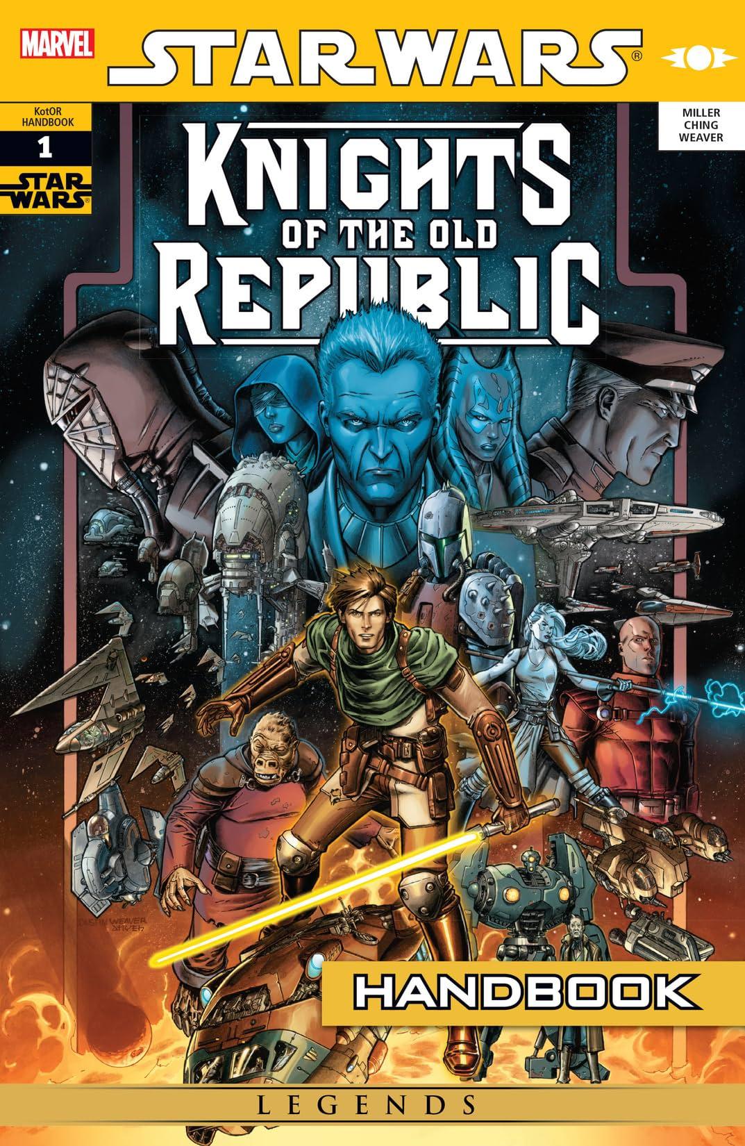 Star Wars: Knights of the Old Republic Handbook (2007) #1