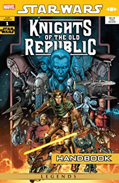 Star Wars: Knights of the Old Republic Handbook (2007) #1