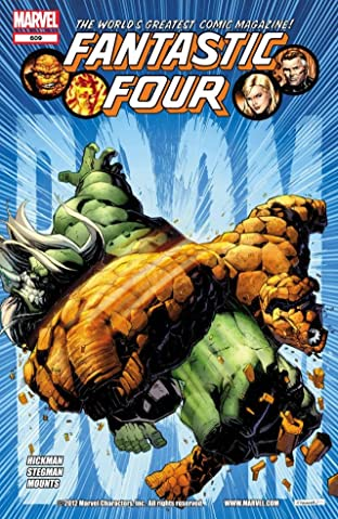 Fantastic Four (1998-2012) No.609