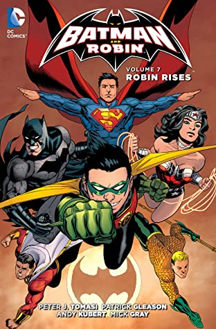 Batman and Robin (2011-2015) Tome 7: Robin Rises