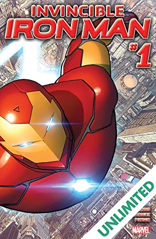 Invincible Iron Man (2015-2016) #1
