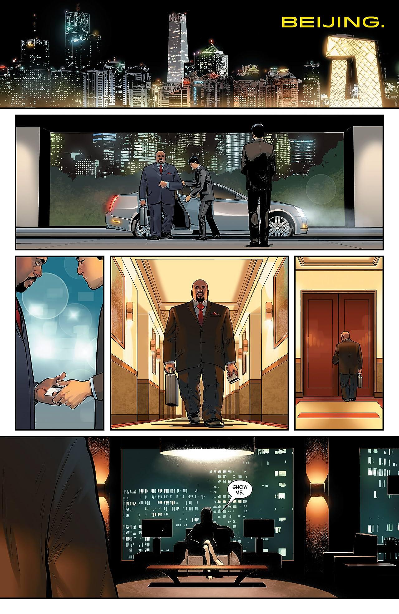 Invincible Iron Man (2015-2016) #1