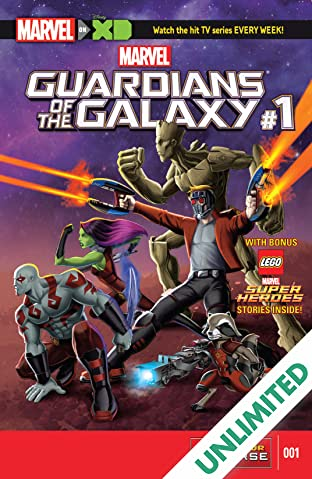 Marvel Universe Guardians of the Galaxy (2015-) #1