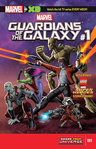 Marvel Universe Guardians of the Galaxy (2015-2017) #1