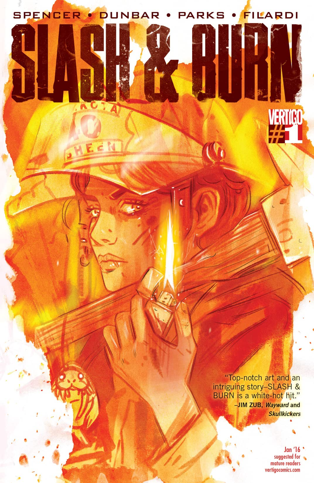 Slash & Burn (2015-2016) #1