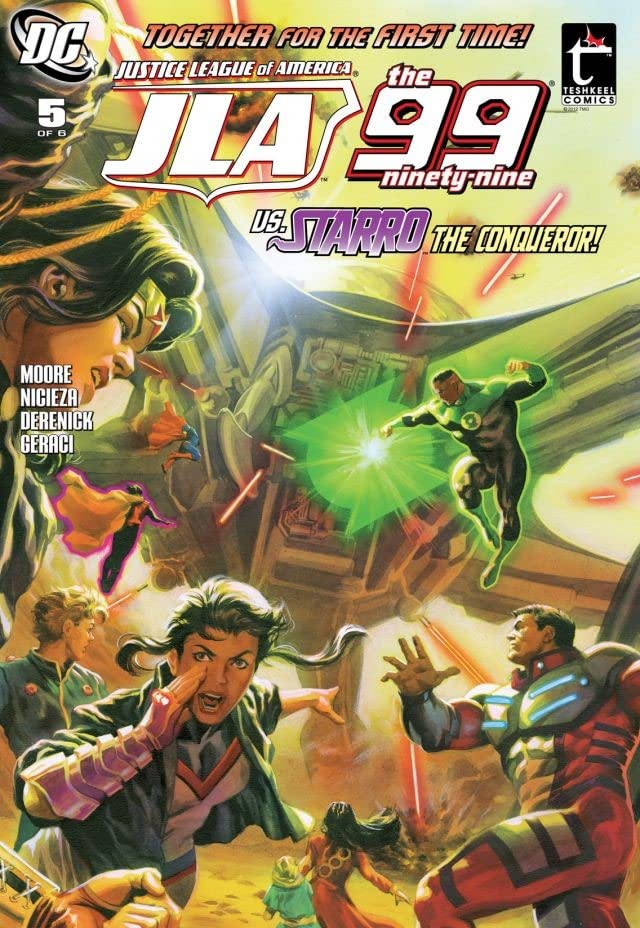 JLA: The 99 #5 (of 6)