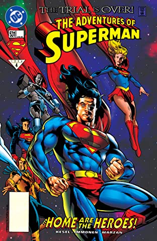 Adventures of Superman (1986-2006) #531