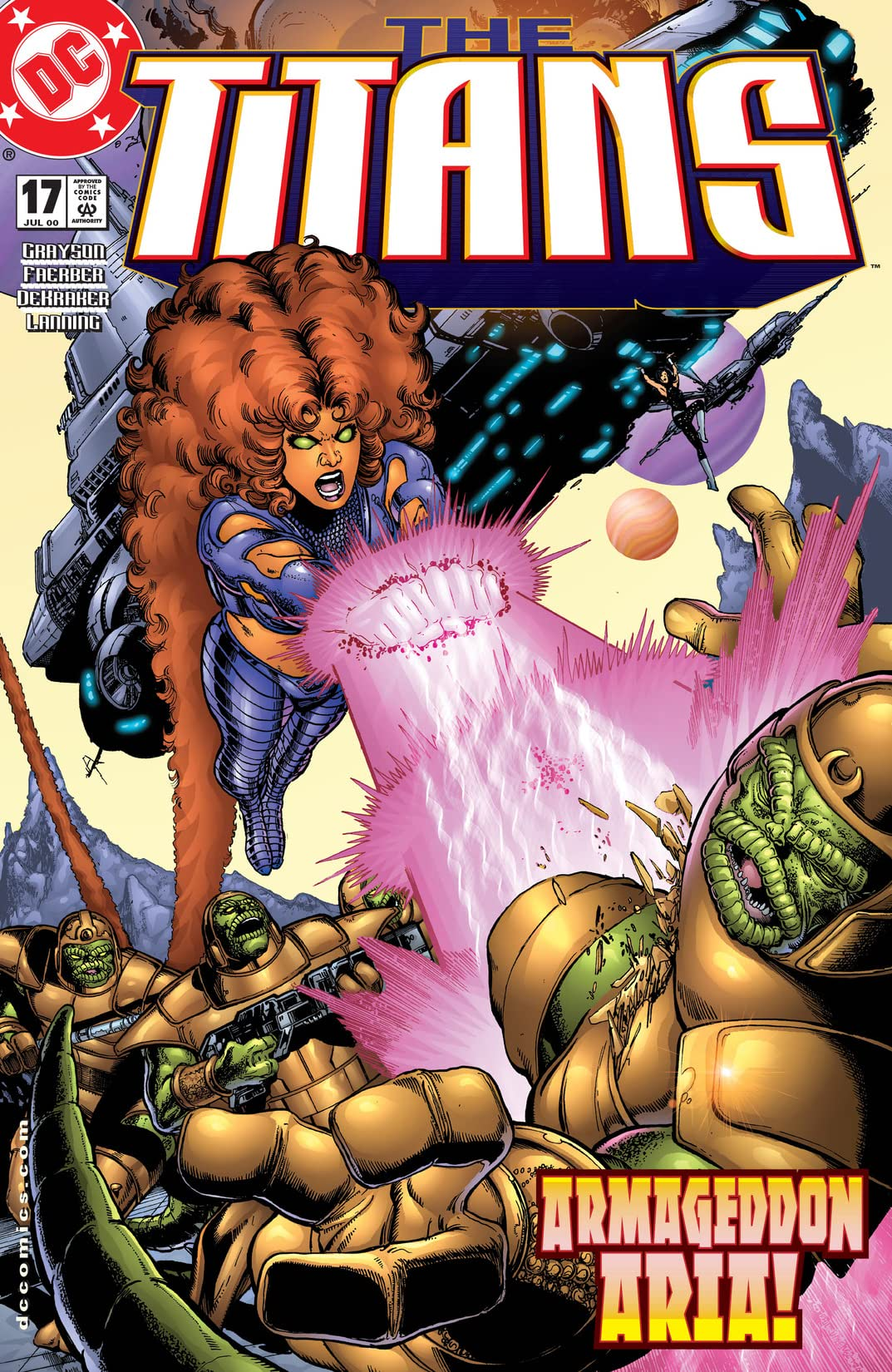 The Titans (1999-2003) #17