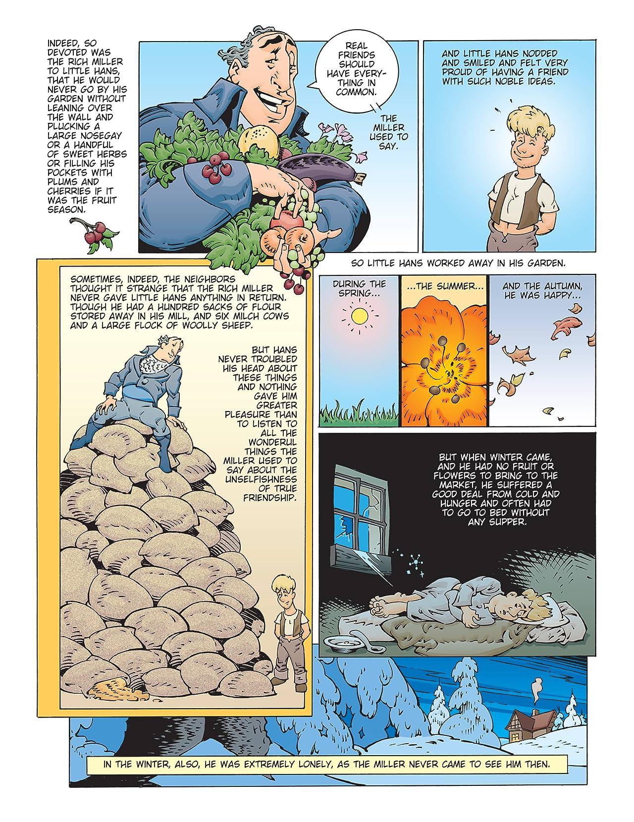 fairy tales of oscar wilde vol 4 eu comics by comixology