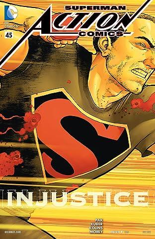 Action Comics (2011-) #45