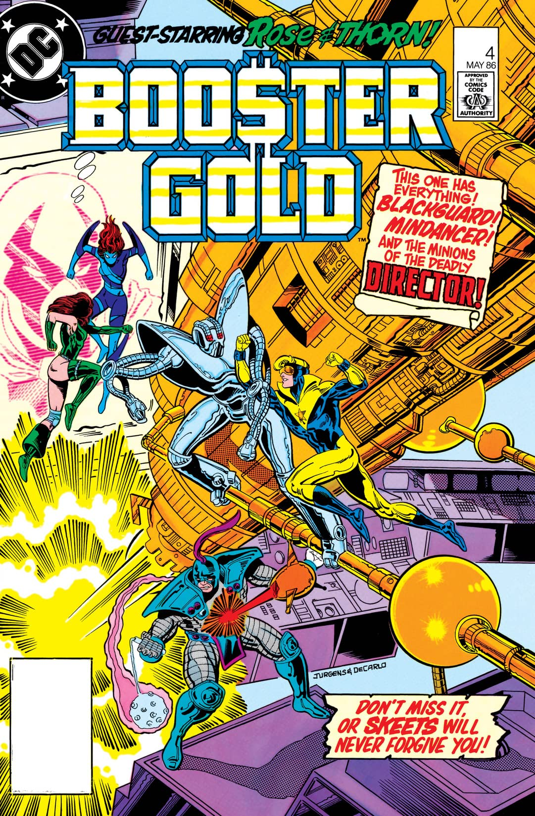 Booster Gold (1986-1988) #4